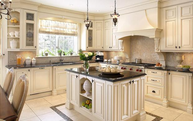trendy la cuisine cottage un style chaleureux avec une touche de modernit parfait pour la. Black Bedroom Furniture Sets. Home Design Ideas