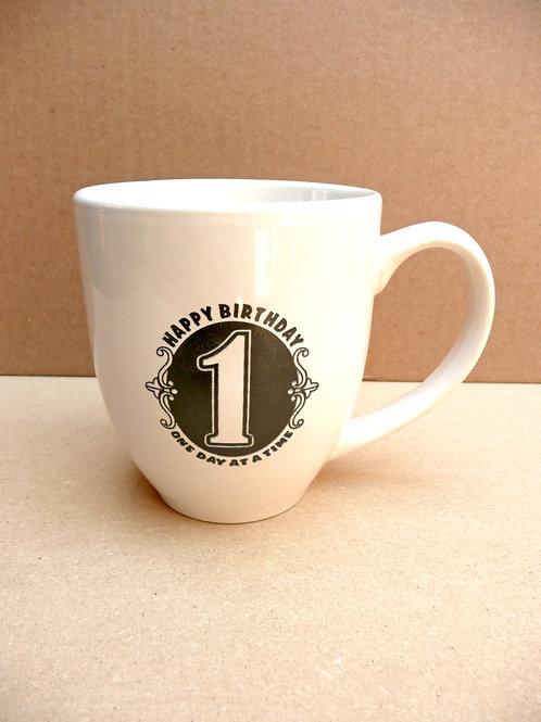 Recovery Birthday - Bistro Mug
