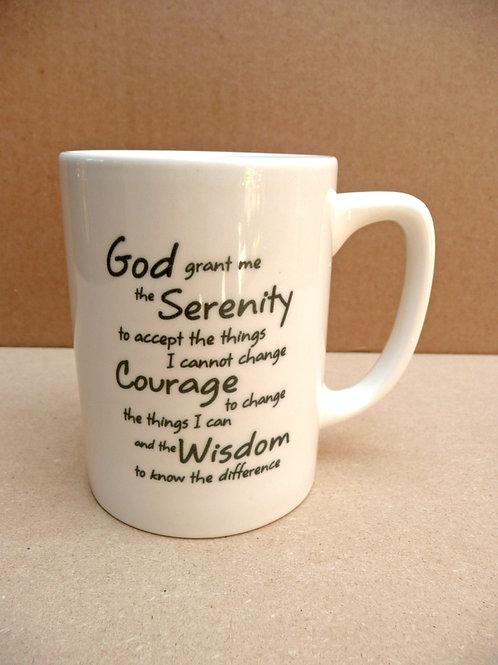 Serenity Prayer - #124 Mug