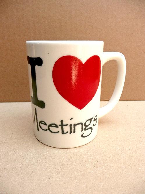 I Heart Meetings - #72 Mug