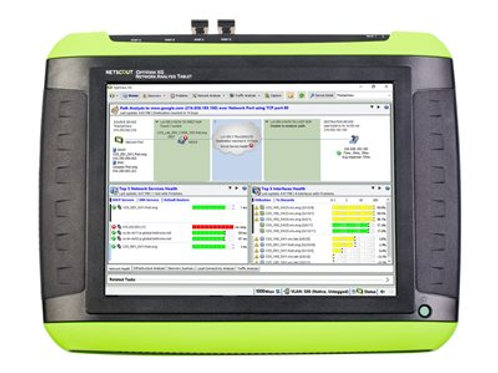 OptiView® XG Network Analysis Tablet