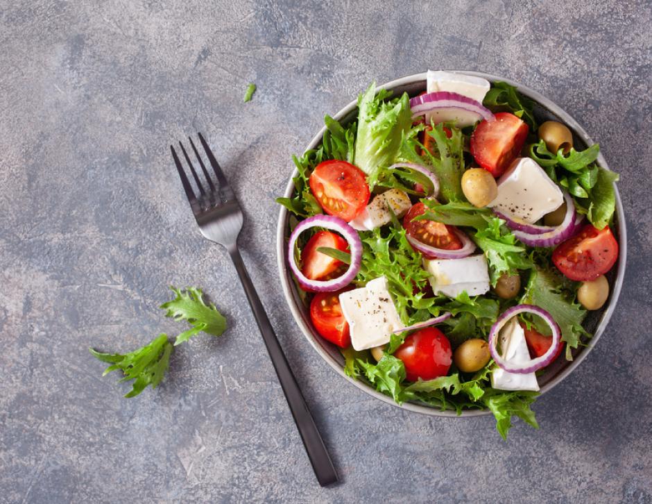 Buffalo Mozzarella Cheese salad