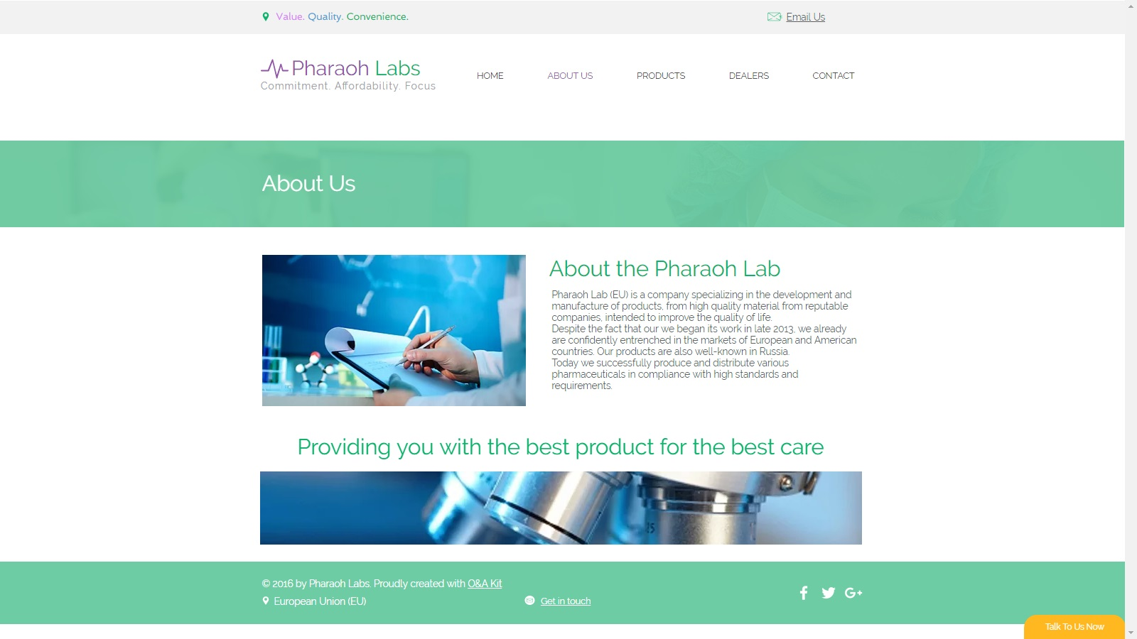 Landing page 4 labs 2