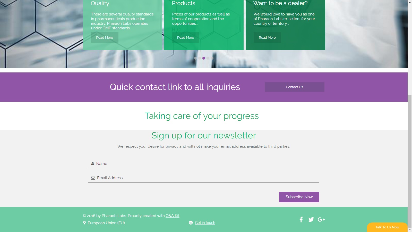 Landing page 4 labs 1
