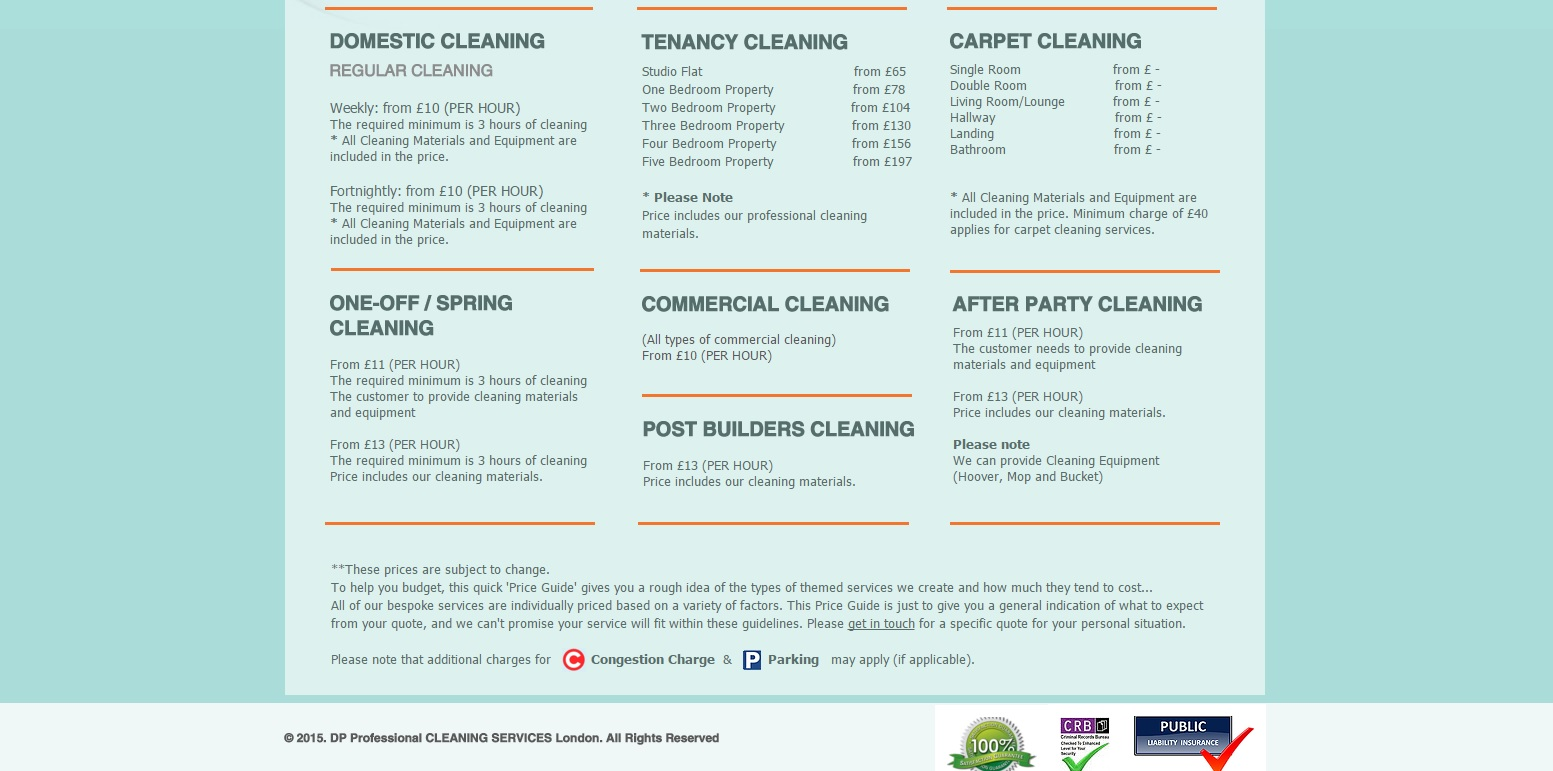 cleaning web p3.1