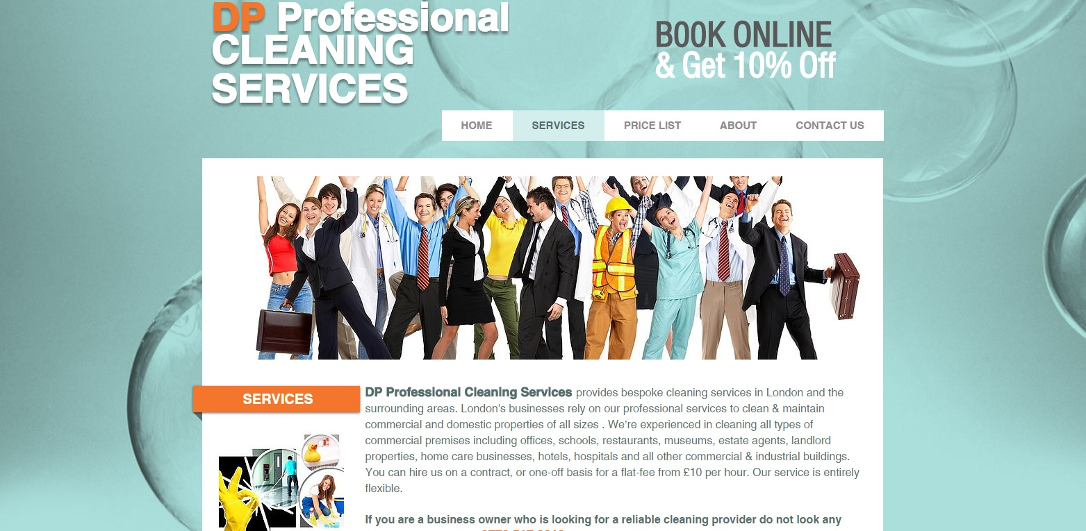 cleaning web p2