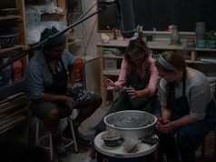 Kaas Ghanie, Kate Grey and Kristyn Green