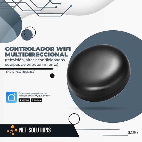 Controlador Wifi Multidireccional (televisión, aires acondicionados y mas)