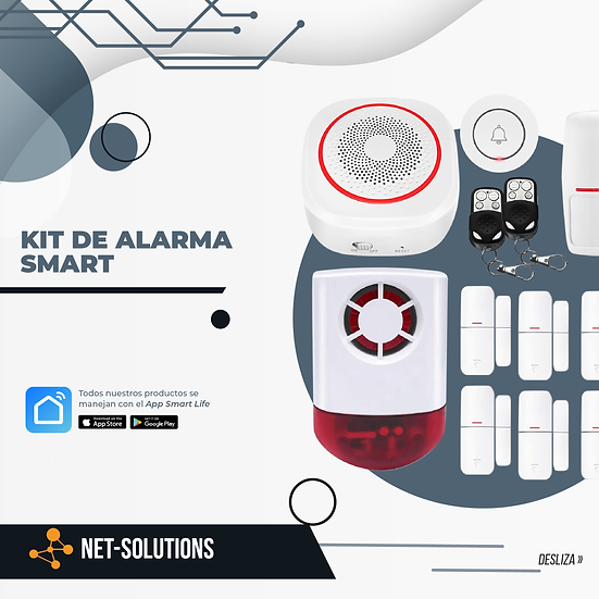Kit de Alarma Smart Residencial