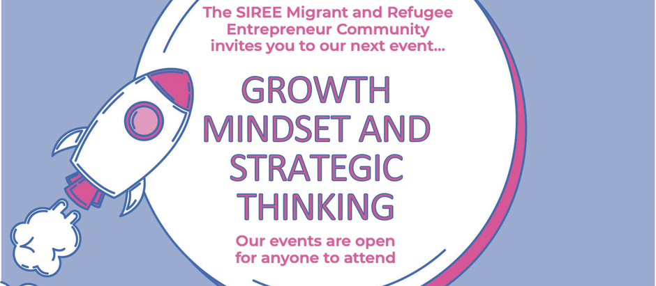 Growth Mindset & Strategic Thinking. REGISTER NOW for free!