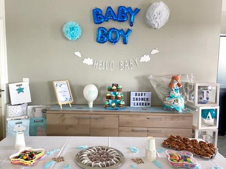 baby shower Juin 2020