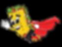Original Golden Skone Mascot Flying Fina