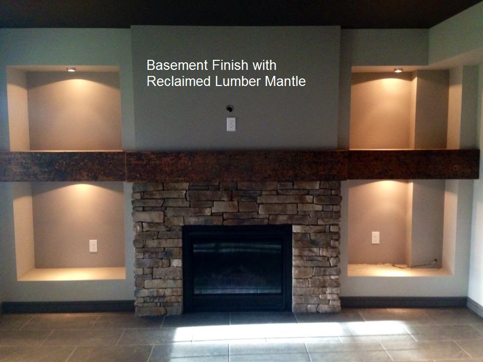 Interior Basement Finish