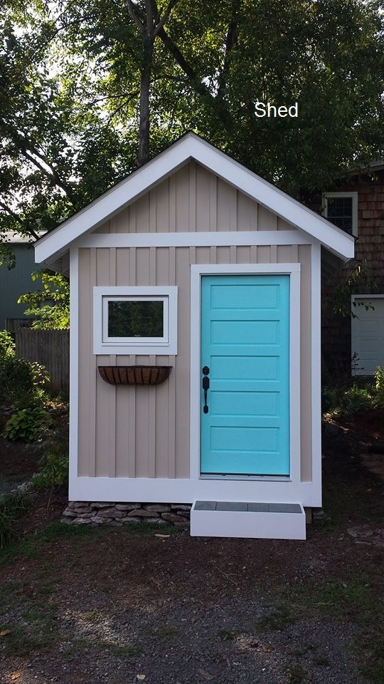 Exterior Shed