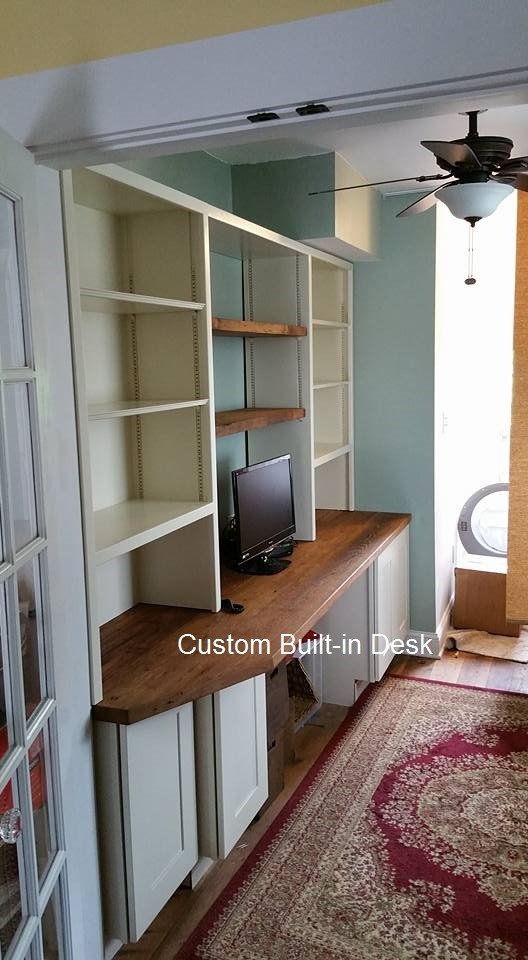 Interior Built-in Desk