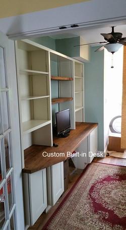 Interior Built-in Desk