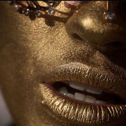 Gold Bodypaint
