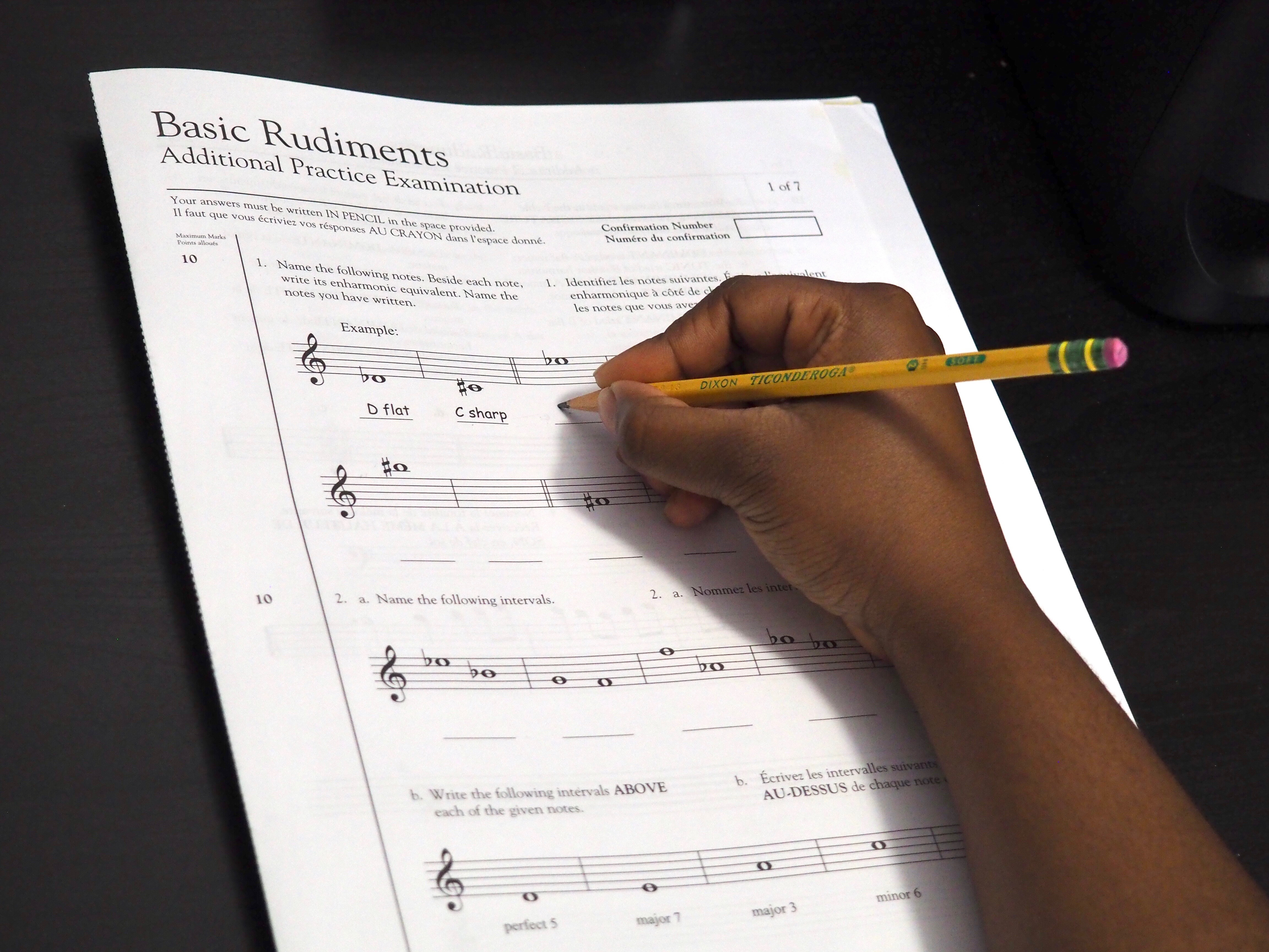 Theoretical Piano Lesson