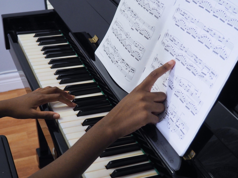 Traditional Piano Lesson