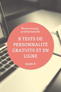 Reconversion professionnelle, des tests de personnalité gratuits et en ligne pour vous aider
