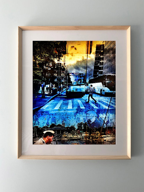 """City Jungle"" Framed Print"