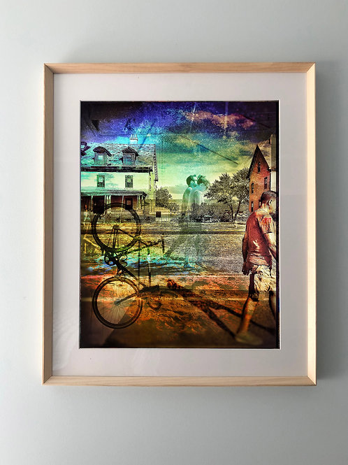 """A Day in Sandy Hook"" Framed Print"