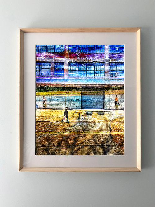 """""""Two Worlds"""" Framed Print"""