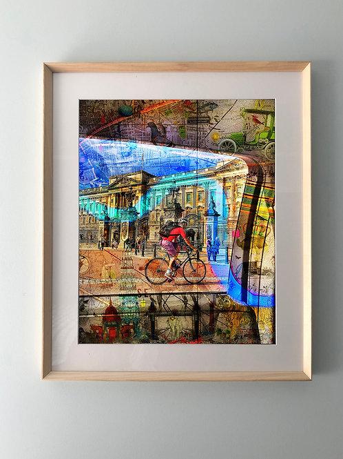 """""""London Calling"""" Framed Print"""