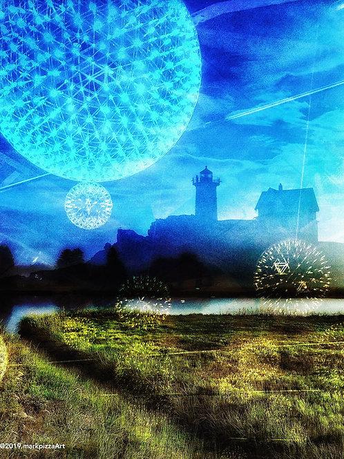 Nubble Light Collage