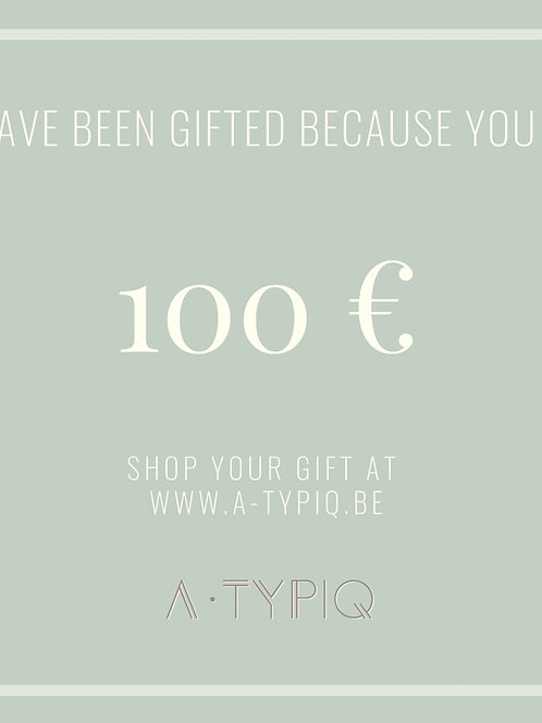 Gift Card A-TYPIQ