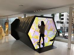 Kaleidoscope video wall