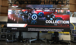 LeMay car museum LED video wall