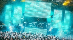 Oregon rave video wall