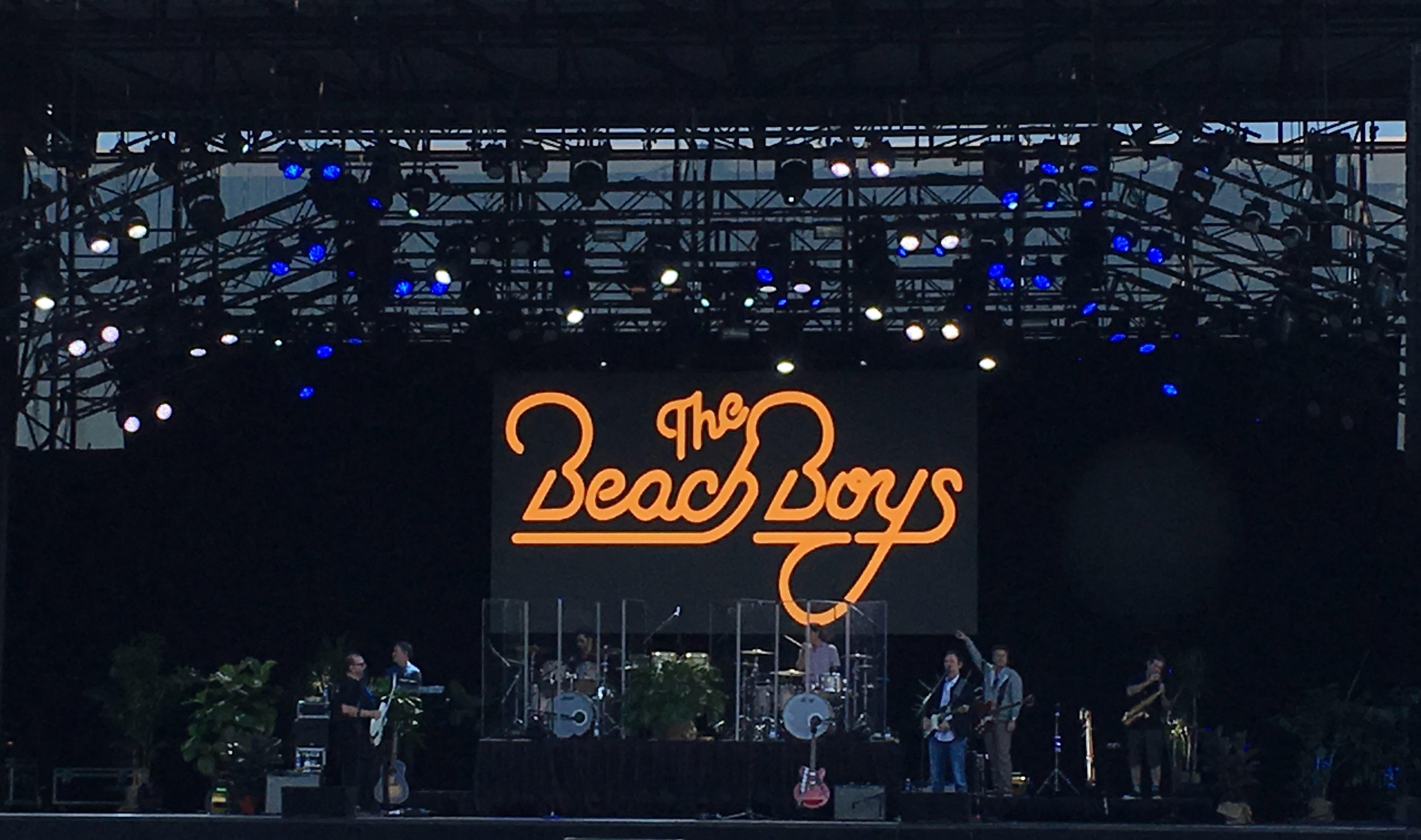 24' x 12' Beach Boys LED video wall