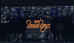 24' x 12' Beach Boys LED video wall