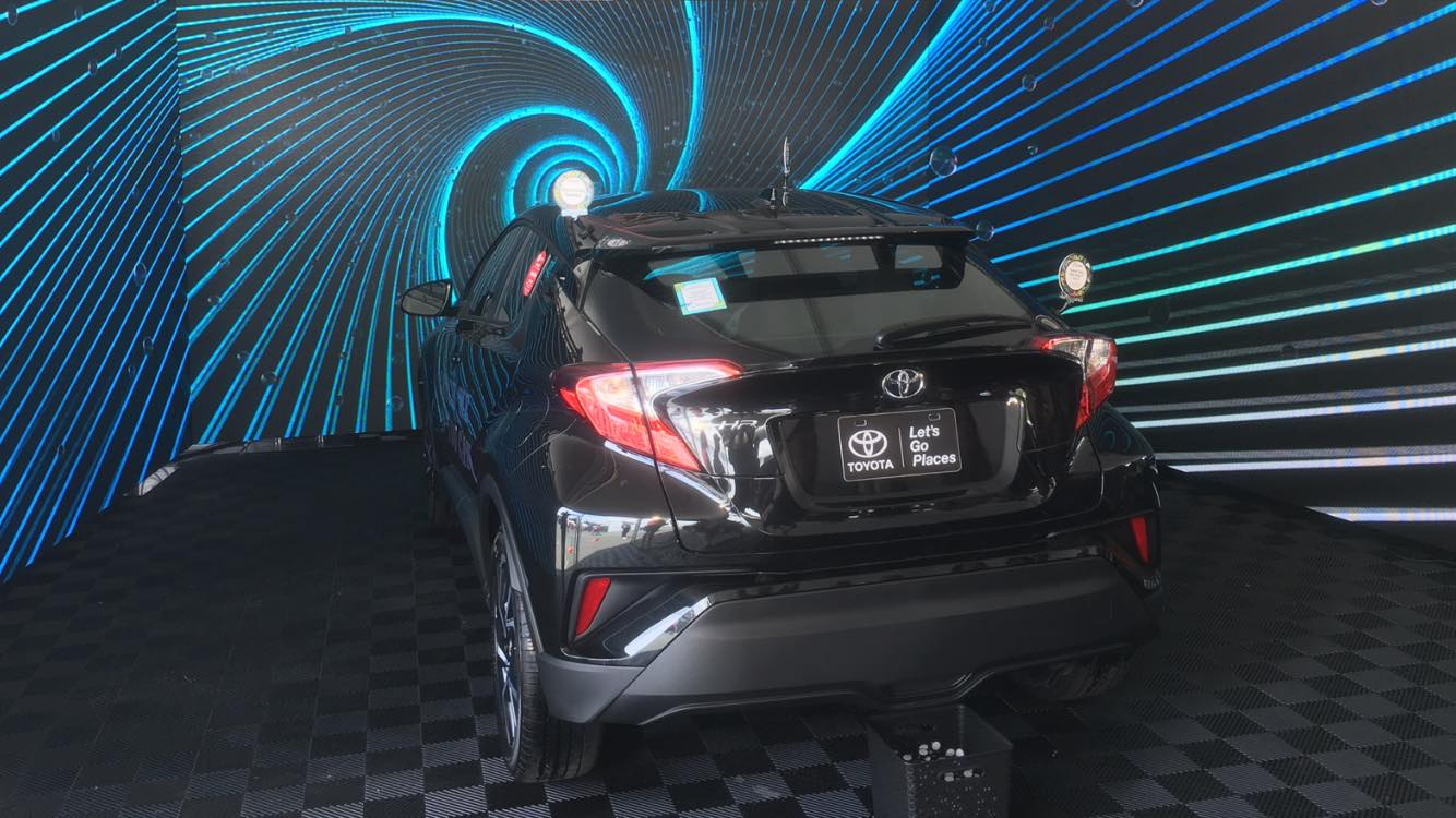 Toyota C-HR display