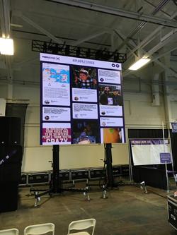 Social Media LED Video Wall