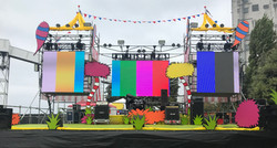 IP65 rated 3.9mm LED video wall
