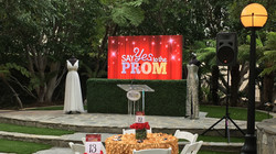 Say Yes to the Prom video wall