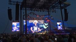 50'x 25' Brad Paisley LED video wall
