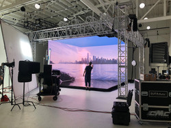 Video walls and ceiling in Seattle