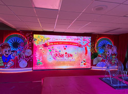 3.9mm LED video wall