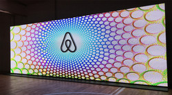 35 foot wide LED video wall