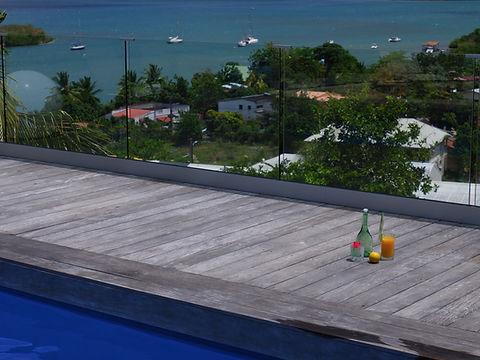 Panoramic view above Trois-Îlets, Martinique - The Bahi Villa