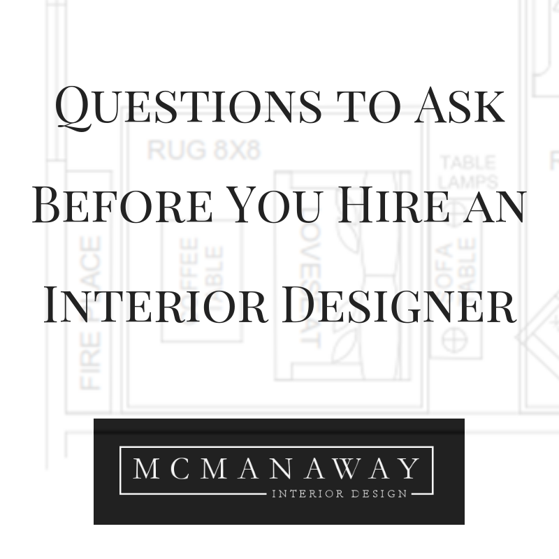 Questions To Ask Before You Hire An Interior Designer