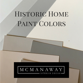 Historic Home Paint Colors: Downtown Riverside / Wood Streets