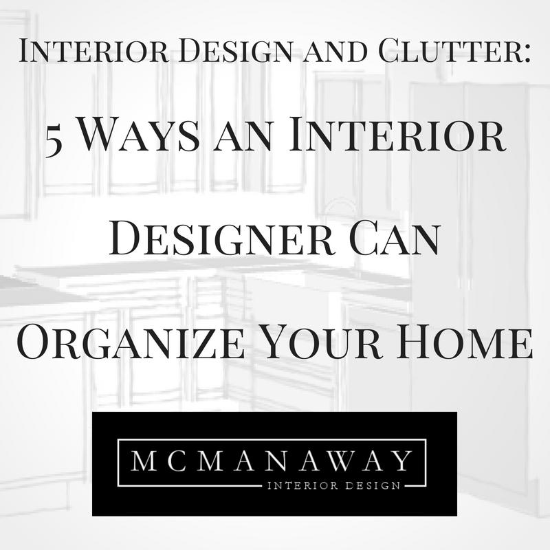 5 Ways an Interior Designer Can Organize Your Home