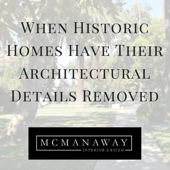 When Historic Homes Have Their Architectural Details Removed