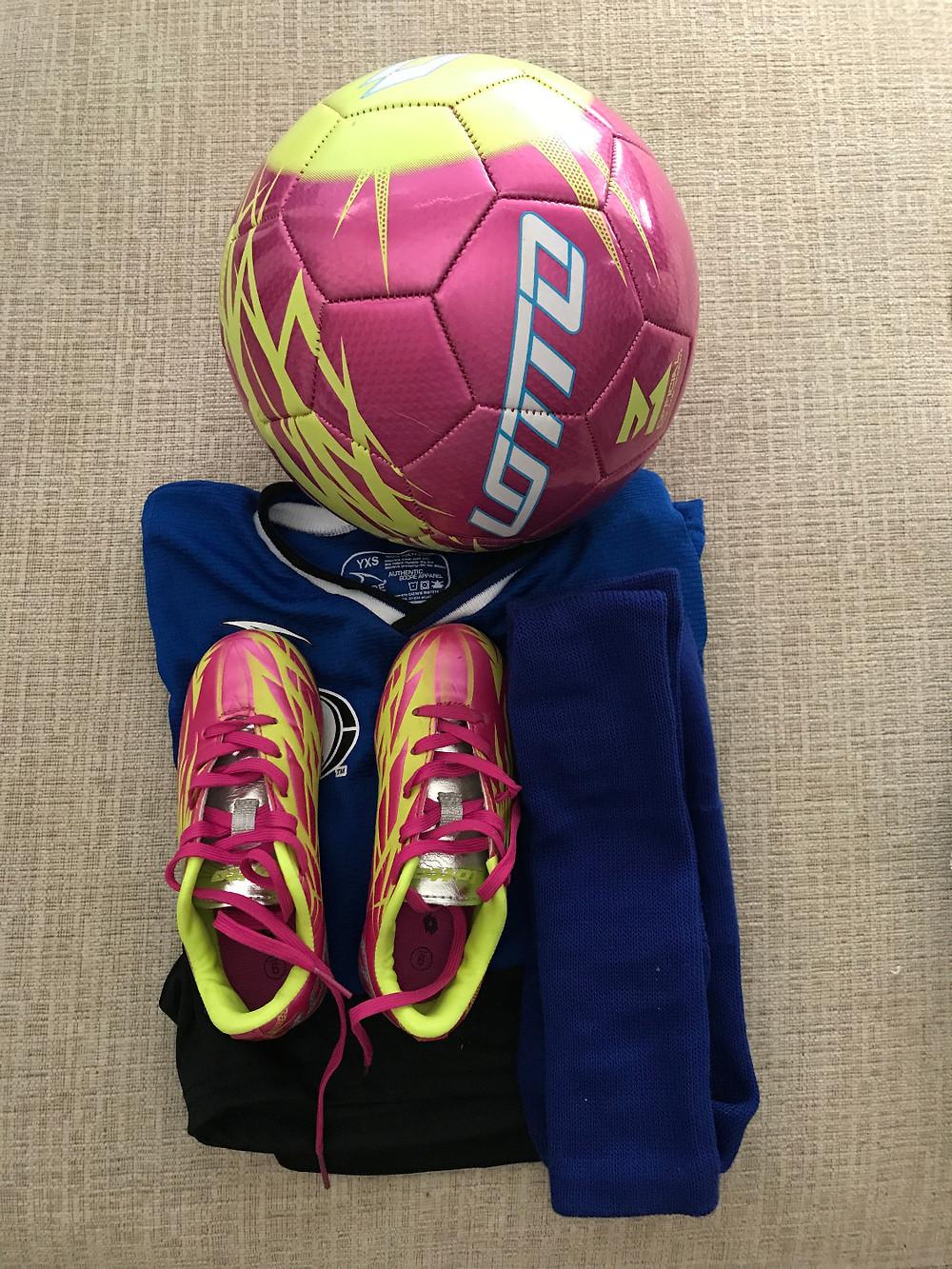 Soccer Equipment Stylish Organization