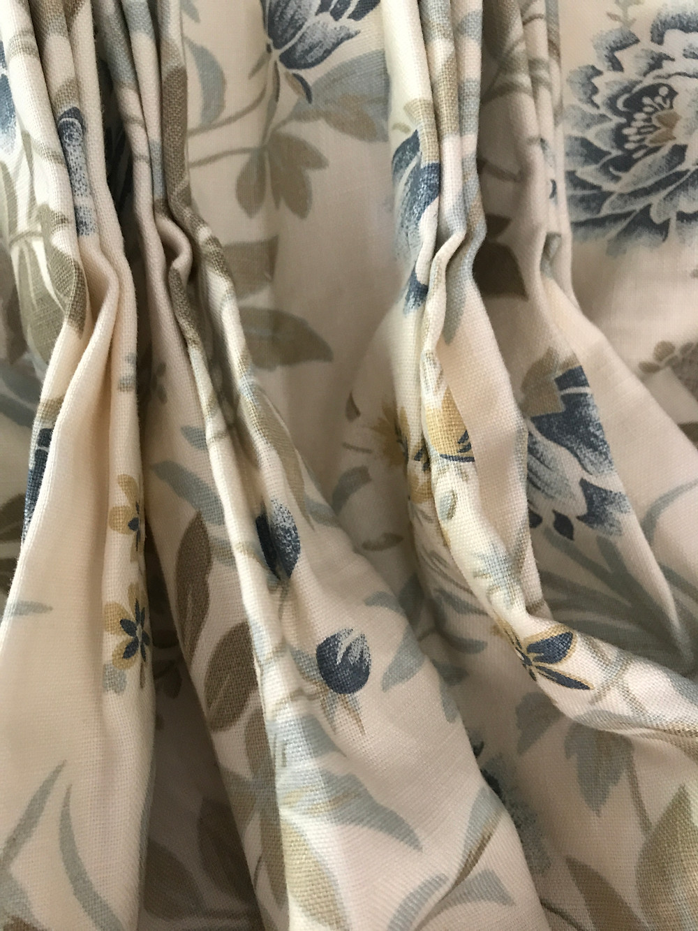 Floral Drapery Panels